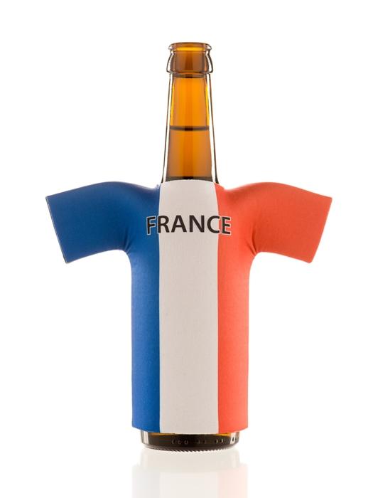 flaschentrikot france neopren flaschenkuehler frankreich