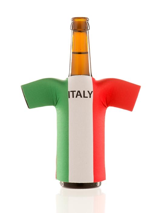 flaschentrikot italy neopren flaschenkuehler italien 2018 fanartikel