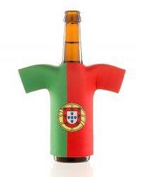 flaschentrikot portugal neopren flaschenkuehler portugal 2018 fanartikel 2018