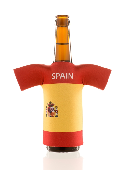 flaschentrikot spain neopren flaschenkuehler spanien fanartikel wm2018