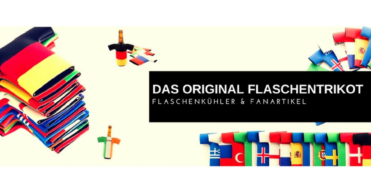 Flaschentrikot Banner